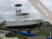 1993 LUHRS 29 Twin 5.7 Gas (Health Forces Sale) On