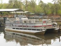 1993 20 Ft. Manituo Limited Pontoon boat with 1994