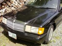 For sale is a 1993 Mercedes Benz 190E 2.6 L 6 cylinder