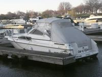 1993 Monterey 286 Cruiser; length of 28.5ft, 100 gal