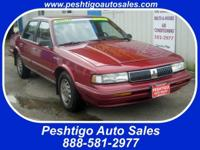 Options Included: Power Windows, Cruise Control, AM/FM,