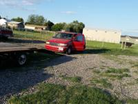 I have a red 4 door Plymouth voyager mini van up for