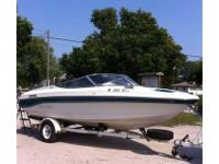 1993 Rinker open bow. 18 foot. 3.0 l mercury cruiser.