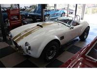 Live the legend that Carrol Shelby started... the Cobra
