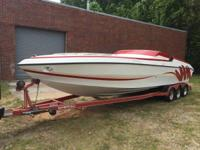 1993 Stryker 31EX Patriot Boat is located in