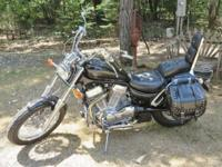 This is a 1993 Suzuki Intruder VS1400 with 22640