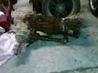 1993 toyota 4x4 transmission and transfer case worked