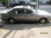 1993 Toyota Camry LE Sedan. Sunroof. Mileage 208100.