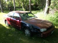1993 toyota camry parts for sale.  I believe parts will