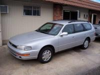 This 1993 Toyota Camry LE Wagon is powered by an