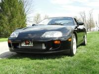 1993 Toyota Supra Limited. Beautiful car! Cleanest