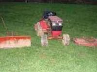 For Sale: This garden tractor is a 314-8 it has a