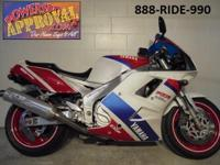 1993 Yamaha FZR1000 Crotch Rocket for sale only $2,799.