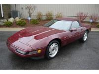 Unique low mileage 40th anniversary 1993 Corvette
