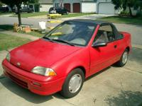 Nice Geo Metro to get you down the road. We installed a