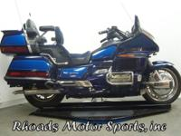 1993 Honda Goldwing SE with 92,164 Miles This is a nice
