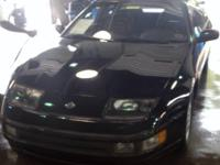 Up for sale is a very rare 1993 Nissan 300ZX 5 Speed