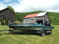 Selling my 1993 Pro Craft 180 Dual Pro Bass Boat. Boat