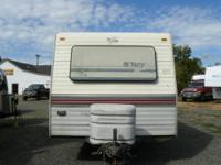 1993 Terry 24ft Trailer style Sleeps 6 people Always