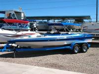 Open Bow, Bimini Top, 454 BB Chevy, Berkeley Jet Drive