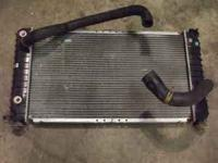 I have a used but good radiator out of a 1994 s10 4.3