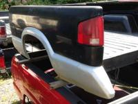 1994 - 2003 S-10 TRUCK BED,  SHORT BED,  BLACK,  NO