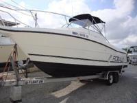 JUST REDUCED! Solid Robalo 2440 Walkaround Powered by