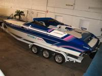 Nice! V-Hull, Pro-Built 600 HP Supercharged BB Chevy,