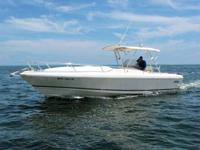 1994 35' Intrepid Center Console with Cuddy is powered