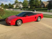 1994 Acura NSX Base Coupe 2-Door 3.0L Red. Tasteful