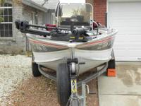 I am offering my 1994 Alumacraft Fishing boat. It is a