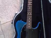 "I am selling this very rare ""blue burst"" Fender Tele"