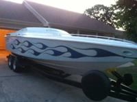 1994 BAJA OUTLAW, 24' BUILT 502, THROUGH HULL, CUDDY