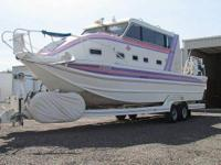 1994 Bentz Twin Diesel Jet Boat Boat is located in
