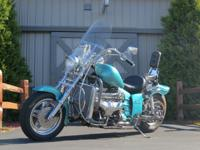 1994 BOSS HOSS CUSTOM MOTORCYCLE CUSTOM BUILT WITH NEW