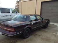 1994 Buick Century with 3.1 V6. Starts, runs and drives
