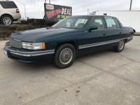 Look at this 1994 Cadillac Deville . Its transmission