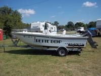 This is a 1994 Cape Horn 17' CC Boat with Yamaha 90hp