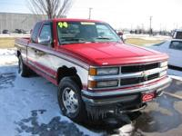 Options Included: ABS Brakes, AM/FM, Four Wheel Drive,
