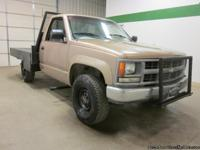 1994 Chevrolet 2500 4x4 V8 5 Speed Manual Flat Bed