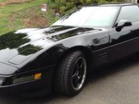 . Absolutely beautiful Black on Black 1994 Corvette