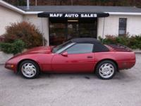 Options Included: N/A1994 Chevrolet Corvette
