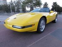 1994 Chevrolet Corvette Convertible. Hi folks I could