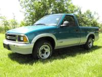 Options Included: N/A1994 Chevrolet S-10/ Regular cab/