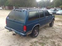 1994 Chevrolet S10 Blazer 4-Door 4WD - J152 4.3L V6 OHV