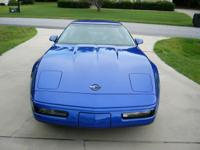 1994 Chevy Corvette. Stunning Admiral Blue color with