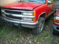 I am parting out this 1994 Chevy Z71 4x4 Truck. Many