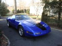 1994 Corvette Convertible Gorgeous Blue 2 owner well