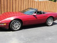 1994 Corvette very good condition 18 years clean CARFAX