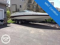 This is a Crownline 266 BR, This is a huge bowrider